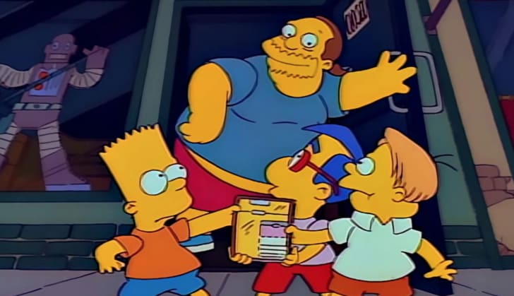 A still of The Simpsons's Comic Book Guy
