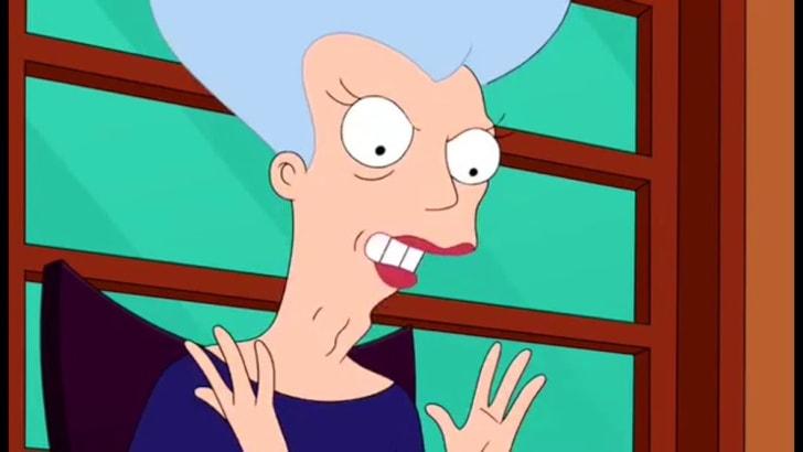 Mom, aka Carol Miller, from 'Futurama'
