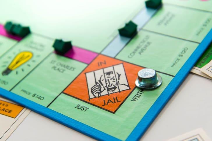 Jailbird Jake, the Monopoly inmate