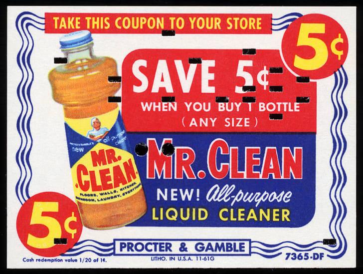 Box of Mr. Clean