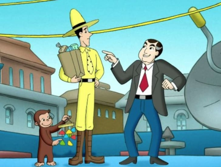 A still from 'Curious George'