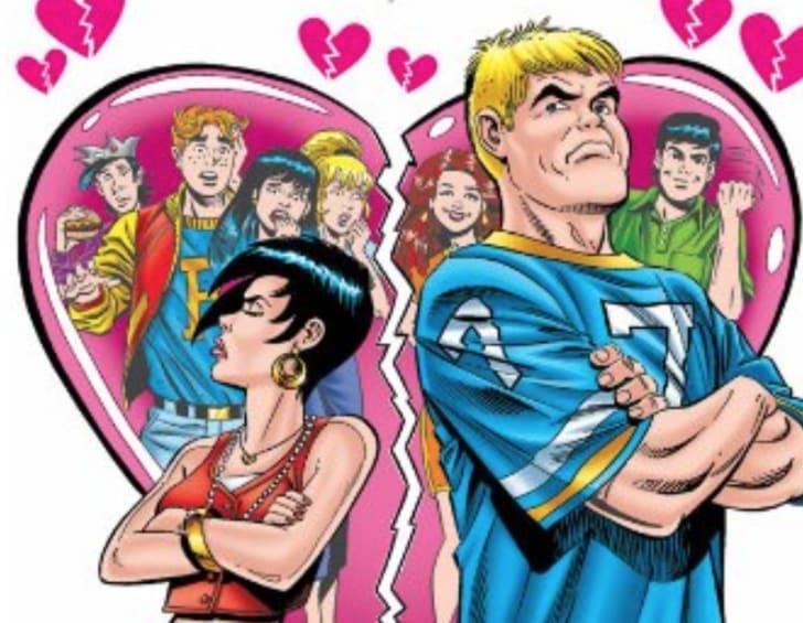 'Moose & Midge: Breakup Blues' comic book cover