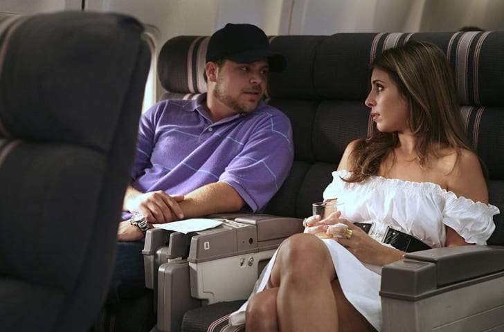 Jamie-Lynn Sigler and Jerry Ferrara in Entourage