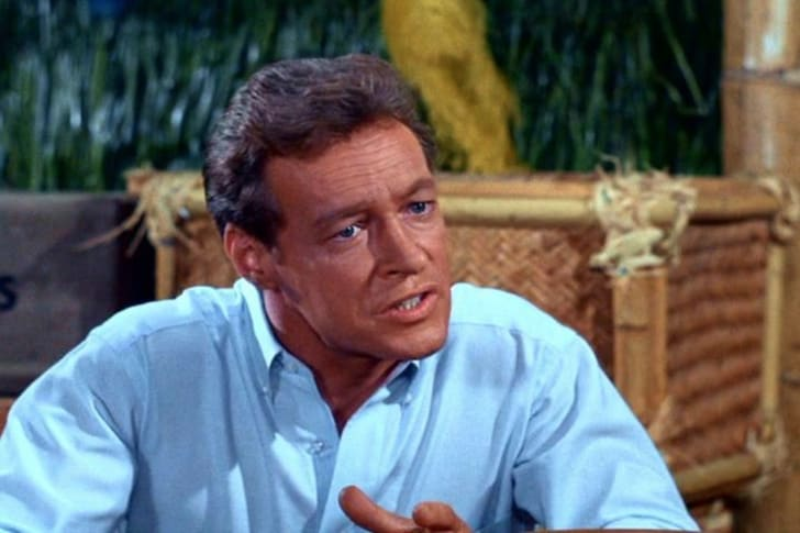 Russell Johnson in Gilligan's Island