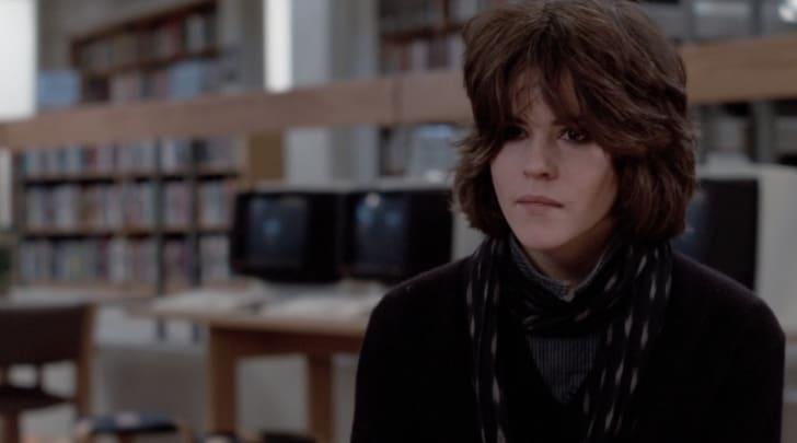 Ally Sheedy in 'The Breakfast Club' (1985).