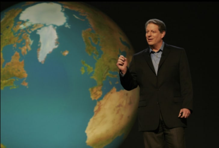 Al Gore in An Inconvenient Truth (2006)