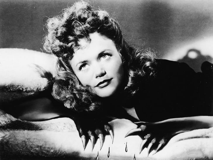 Jane Randolph stars in Jacques Tourneur's 'Cat People' (1942).