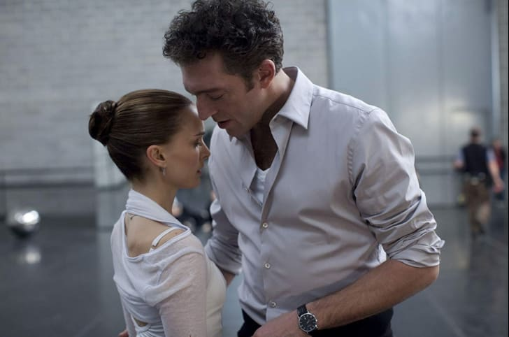 Natalie Portman and Vincent Cassel in Black Swan (2010)