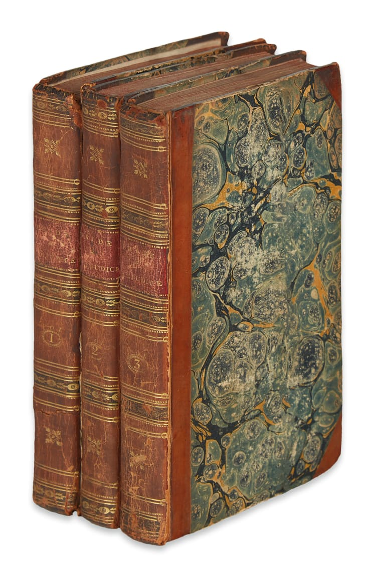 First-edition of Pride and Prejudice by Jane Austen.