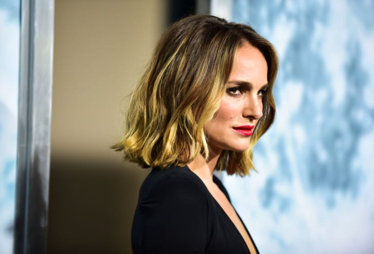 Natalie Portman attends the premiere of FOX's