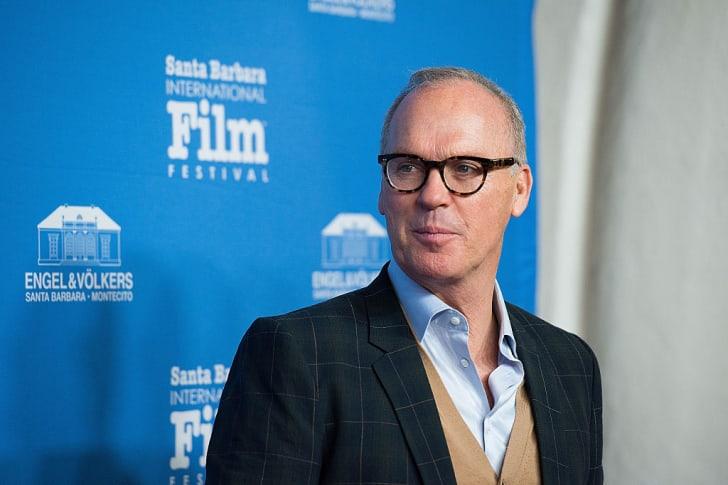 Michael Keaton arrives at the 31st Santa Barbara International Film Festival in Santa Barbara, California.