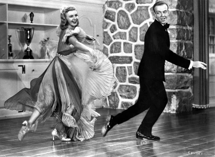 Fred Astaire and Ginger Rogers star in Carefree (1938).