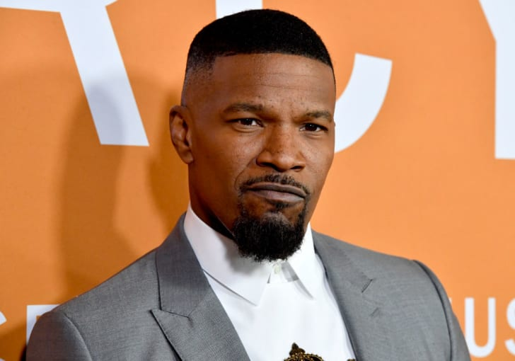 Jamie Foxx attends a screening at Cinemark Baldwin Hills in Los Angeles, California