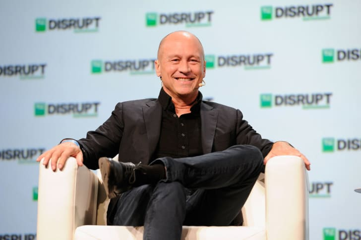 Silicon Valley Co-creator Mike Judge speaks onstage during Day 3 of TechCrunch Disrupt SF 2018 at Moscone Center on September 7, 2018 in San Francisco, California