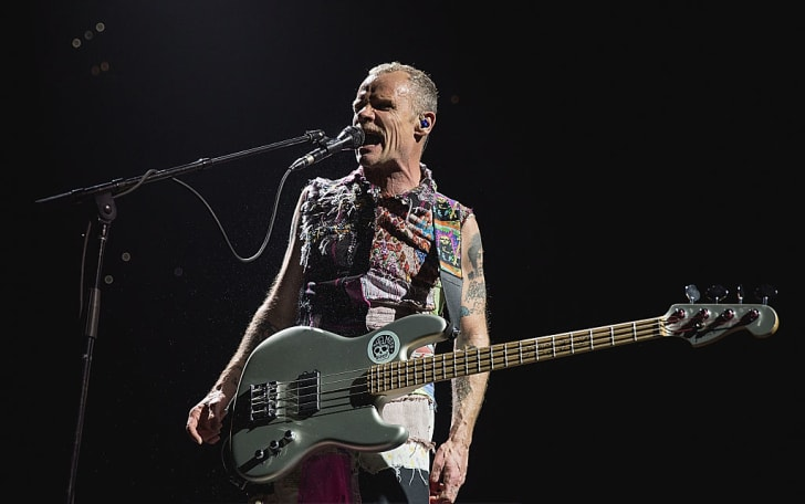 Flea of the Red Hot Chili Peppers performs in concert during The Getaway World Tour at the AT&T Center on January 5, 2017 in San Antonio, Texas