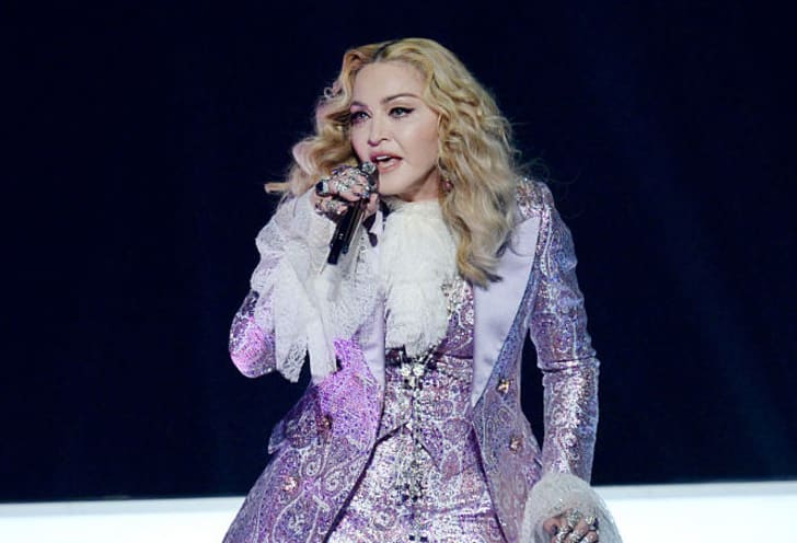 Madonna performs a tribute to Prince onstage during the 2016 Billboard Music Awards at T-Mobile Arena on May 22, 2016 in Las Vegas, Nevada