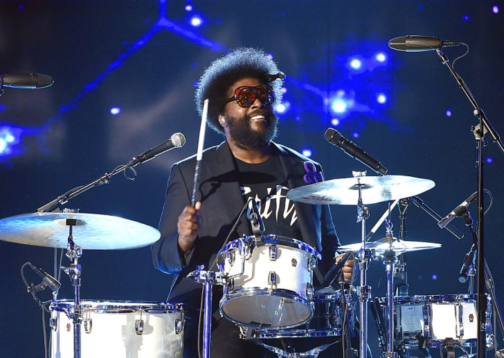 Questlove of music group The Roots performs onstage during the 2016 BET Awards at the Microsoft Theater on June 26, 2016 in Los Angeles, California