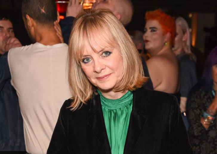Twiggy Lawson attends a private screening of 'The Boy Friend' hosted by Twiggy at Kings Cross Everyman Cinema on October 23, 2019 in London, England