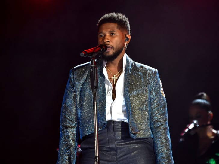 Usher performs at the 62nd Annual GRAMMY Awards on January 26, 2020 in Los Angeles, California