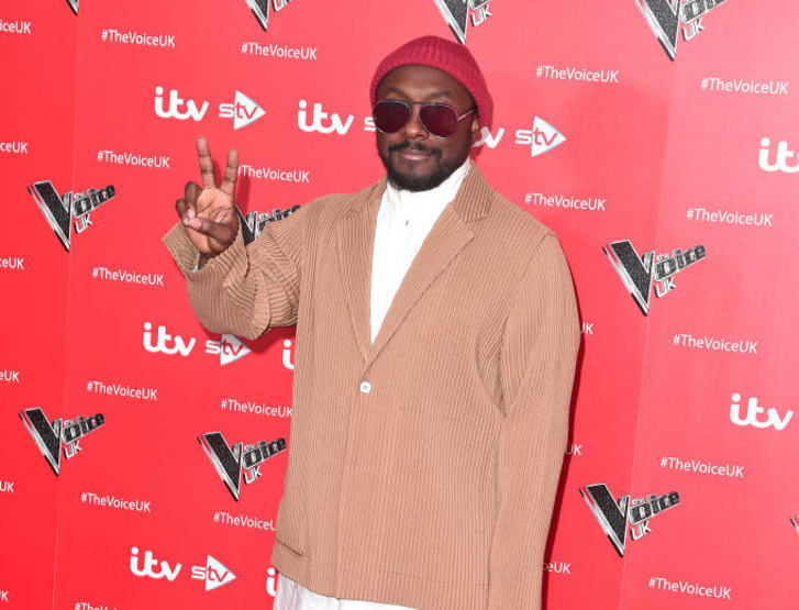Will.i.am attends The Voice UK 2019 photocall at The Soho Hotel on December 16, 2019 in London, England