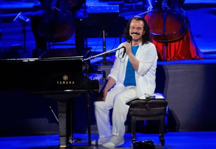 Yanni performs at The Greek Theatre on June 9, 2018 in Los Angeles, California