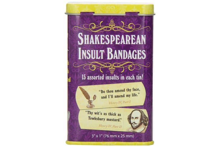 Shakespeare Insult Bandages.