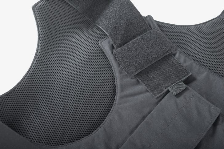 A bulletproof vest.
