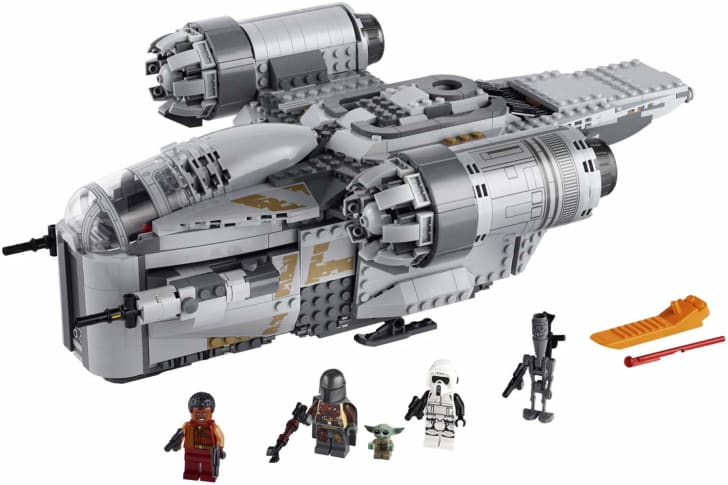 The ship from The Mandalorian