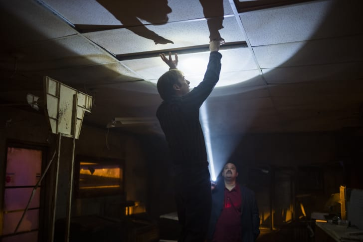 Bob Odenkirk as Jimmy McGill and Mel Rodriguez as Marco Pasternak in 'Better Call Saul'