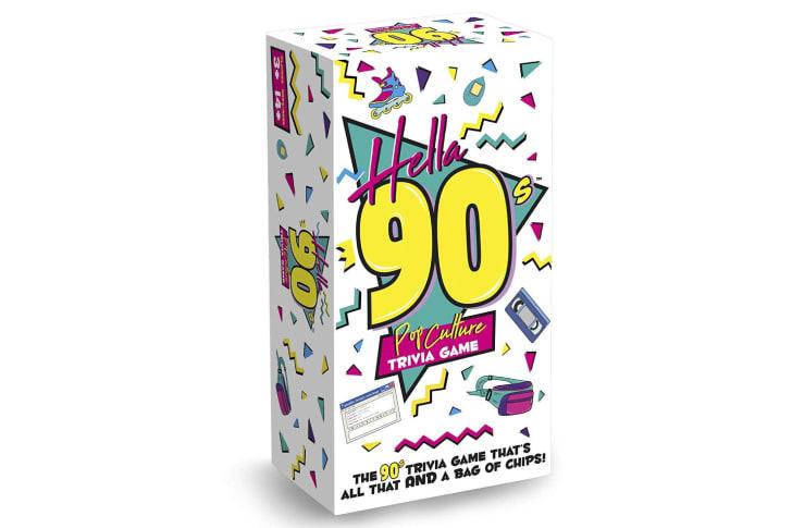 '90s trivia game on Amazon.