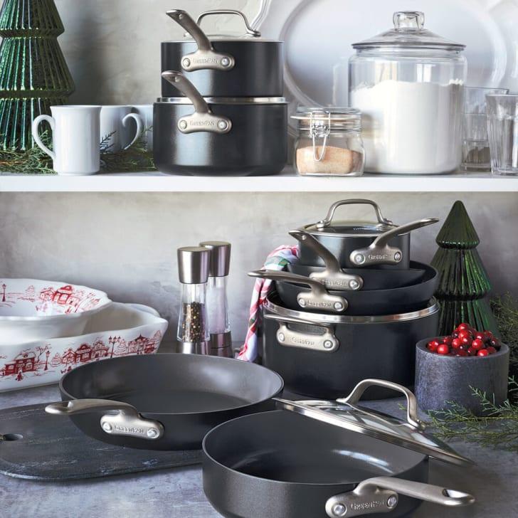 A GreenPan cookware set
