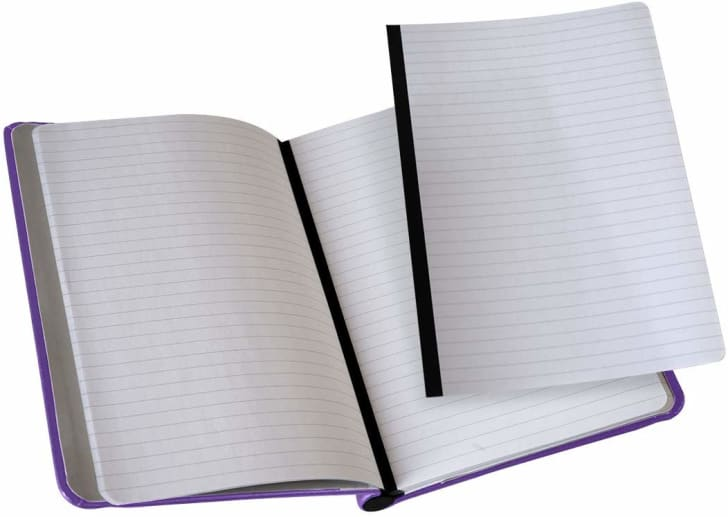 A magnetic notebook