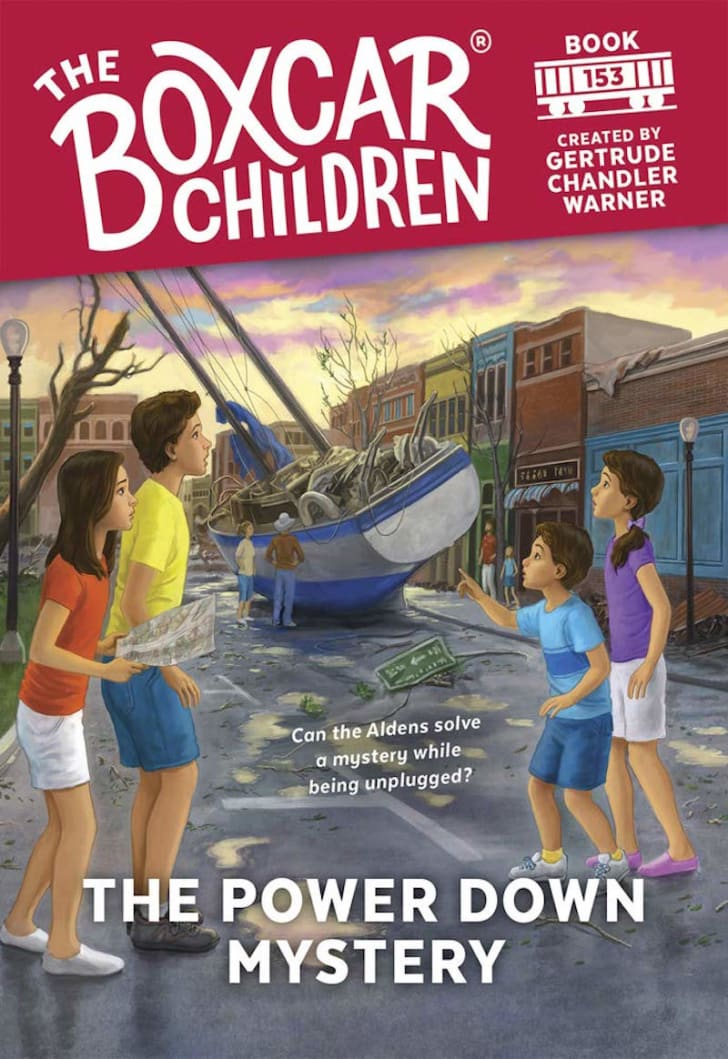 boxcar children the power down mystery
