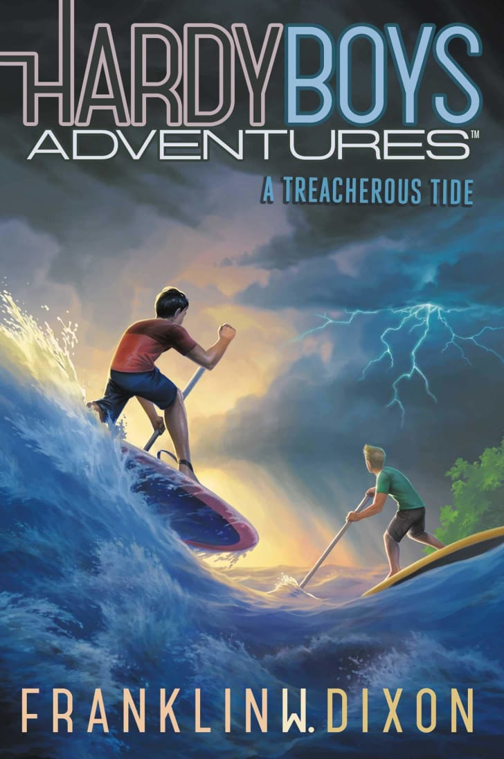 hardy boys adventures: a treacherous tide