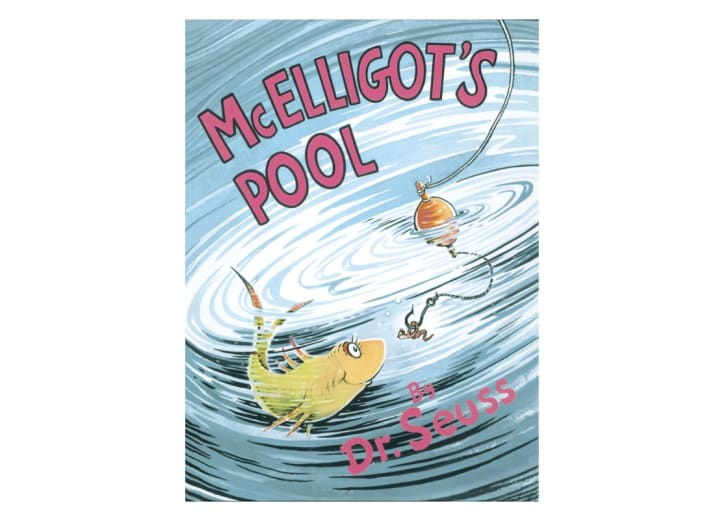 The cover of Dr. Seuss's 'McElligot's Pool'