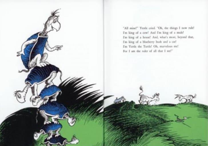 Dr. Seuss's 'Yertle the Turtle'