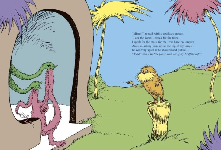 Dr. Seuss's 'The Lorax'