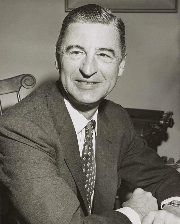 A photograph of Ted Geisel, a.k.a. Dr. Seuss