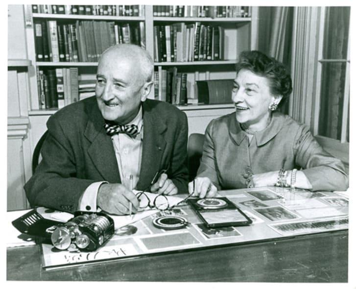 William F. Friedman and Elizebeth Friedman.