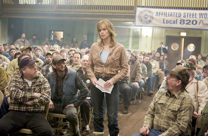 charlize theron in north country