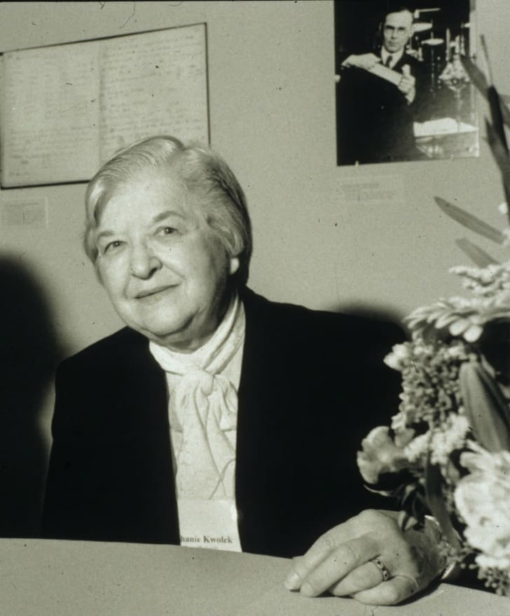 Stephanie Kwolek is pictured