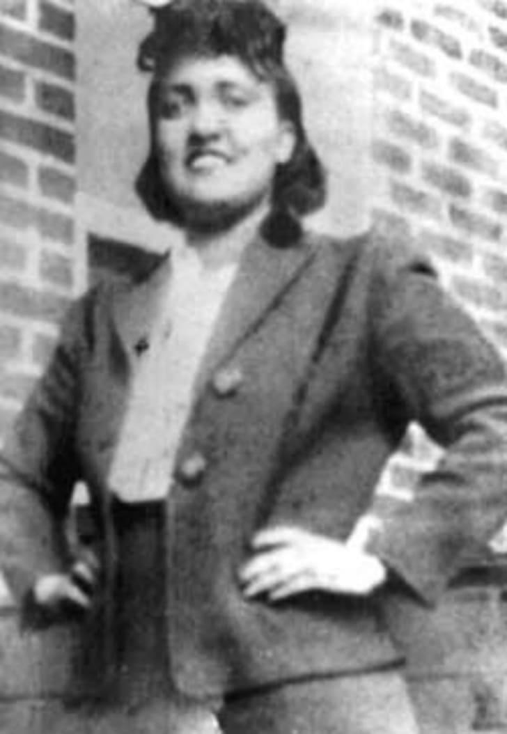 Henrietta Lacks is pictured