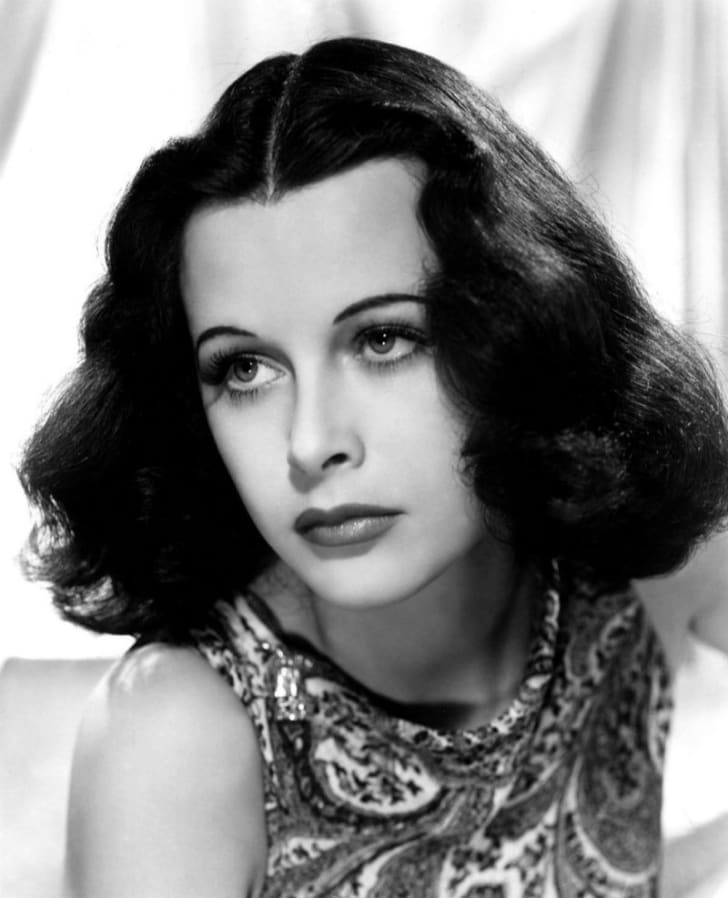 Hedy Lamarr is pictured circa 1940