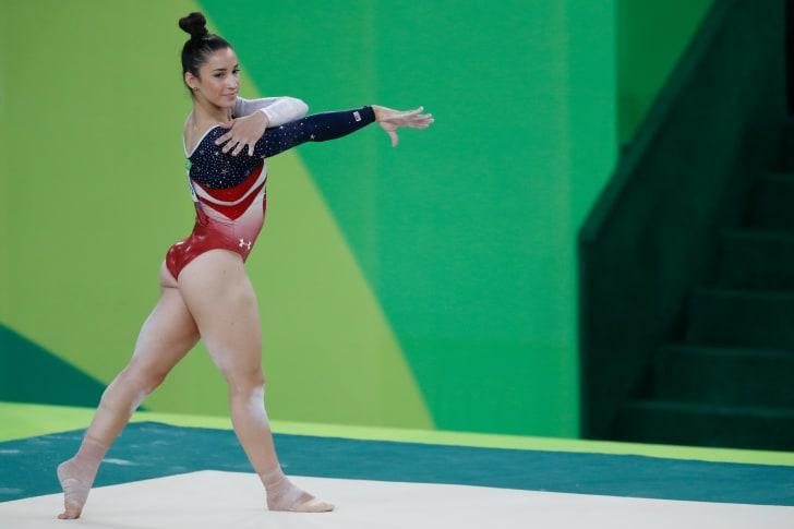Gymnast Aly Raisman