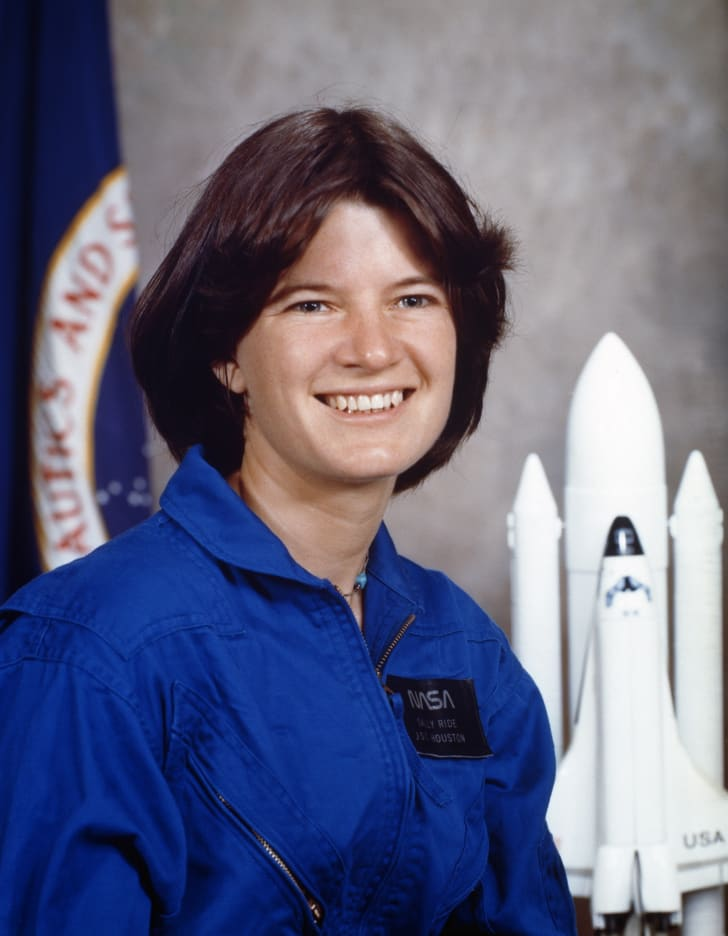 Astronaut and physicist Sally Ride