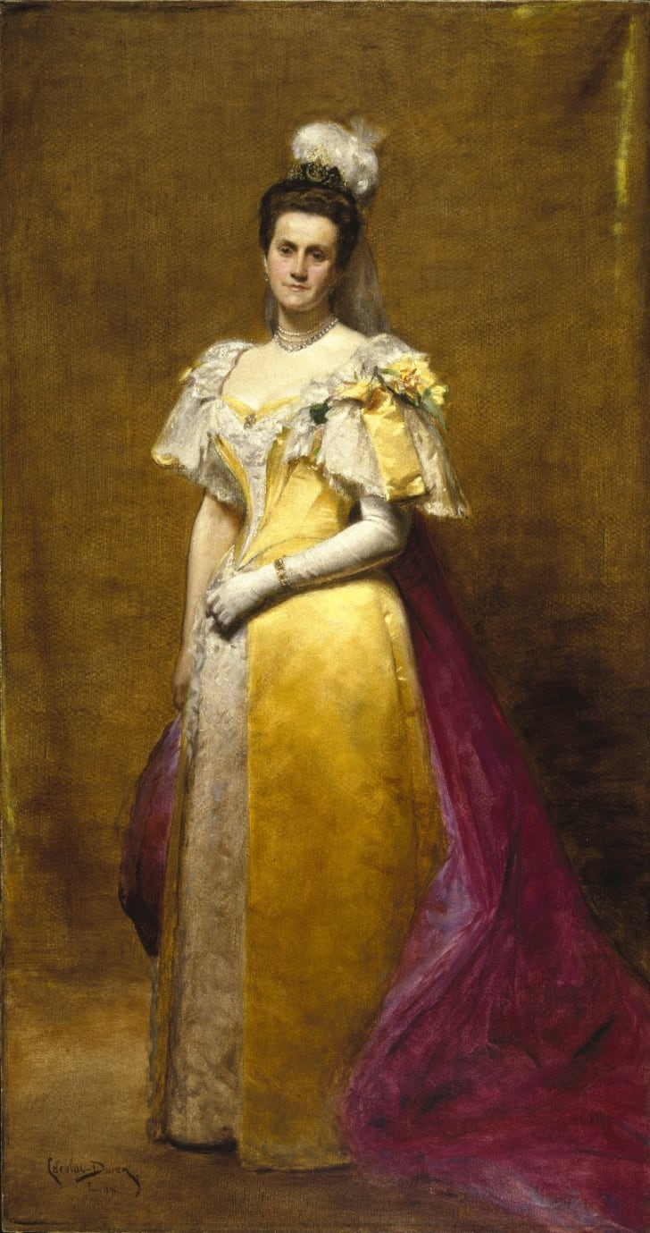 Painting of Emily Warren Roebling