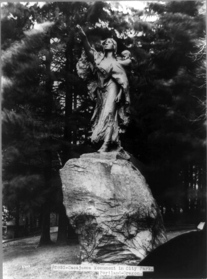 Statue of Sacagawea