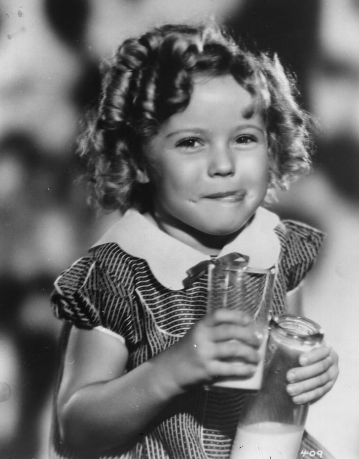 A photo of Shirley Temple.