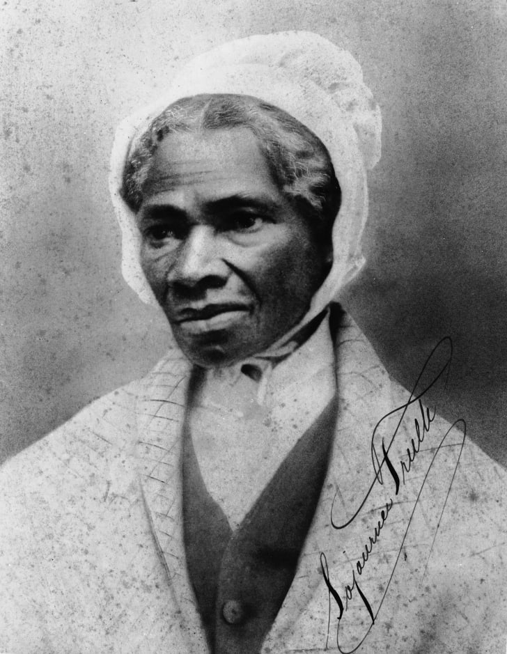 A photo of Sojourner Truth.