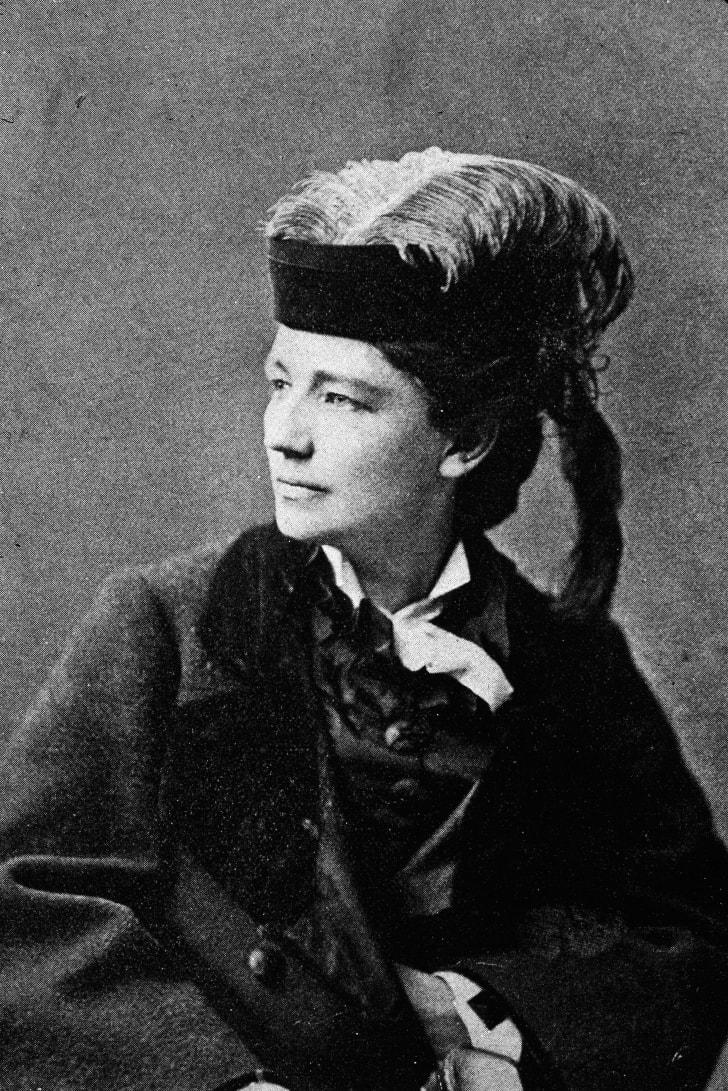 Victoria Woodhull portrait.